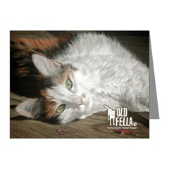 Sandy Byers The Socialite Cat Notecards