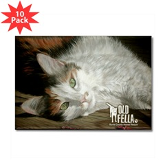 Sandy Byers The Socialite Cat Magnets
